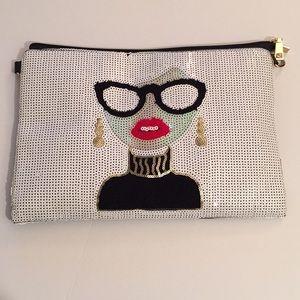 Handbags - Sequin shoulder bag/clutch